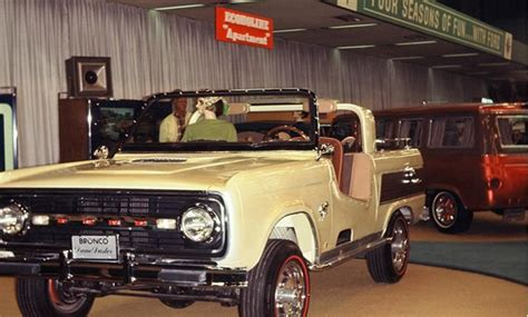 bronco prototype 1964 ford bronco prototype