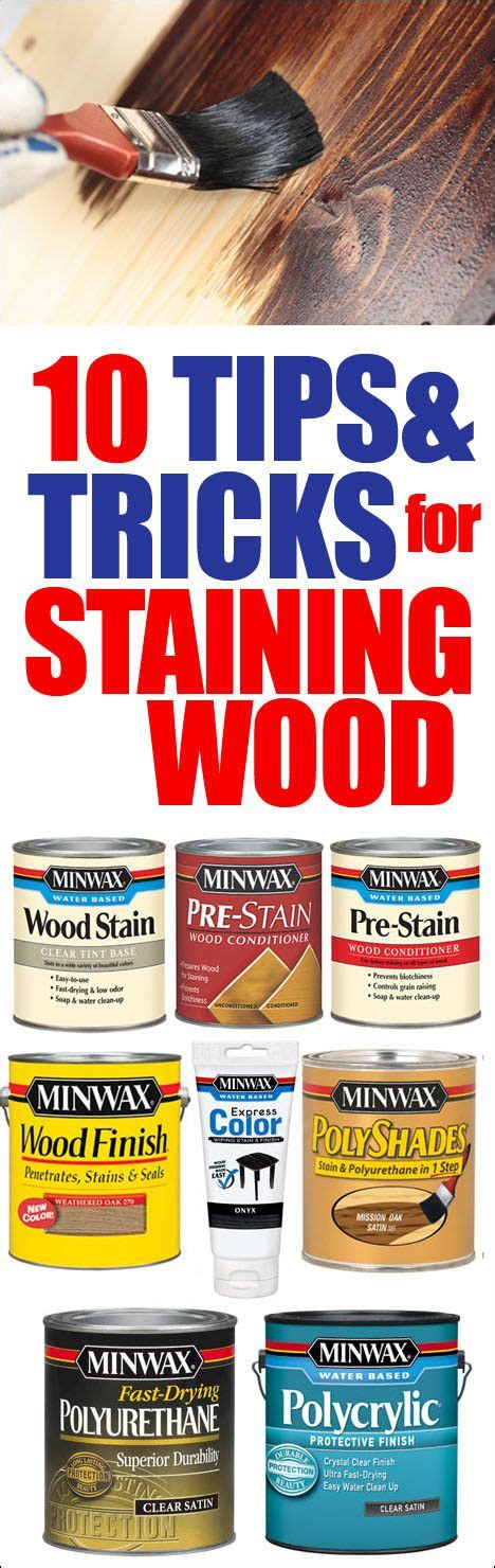 10 Tricks For Less by 10 Tips Tricks For Staining Wood How To Nest For Less