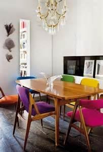 chaises de cuisine tabourets et fauteuils en couleurs