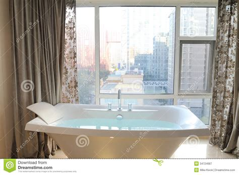 hotel room with tub bathtub royalty free stock photography image 34724687