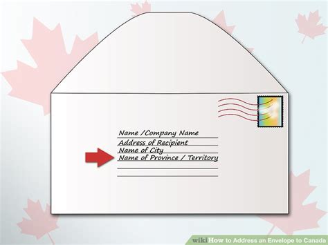 Address Canada How To Address An Envelope To Canada 6 Steps With Pictures
