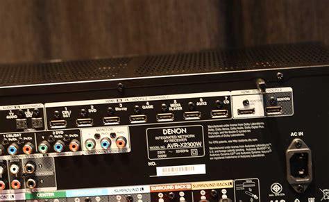 Denon Avr X2300w A V Receiver denon avr x2300w hi fi voice recenze audio