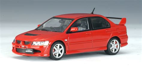 lancer evo red autoart mitsubishi lancer evo viii red 57181 in 1 43