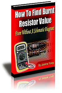 resistor guide ebook pdf preher tech electronics repair