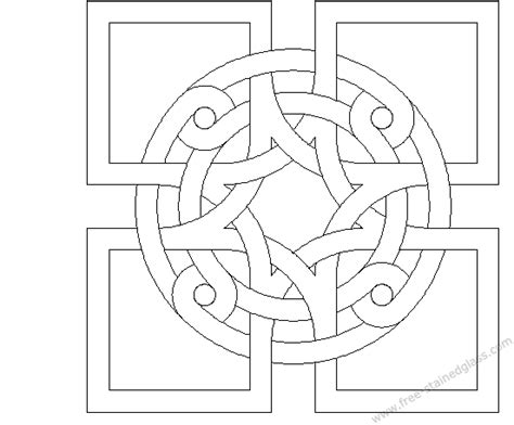 mosaic patterns coloring pages printable picture