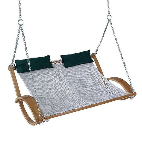 pawleys island swing pawleys island hammocks rope double swing from kohl s