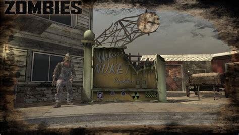 zombies maps nuketown 1986 black ops 2 remake custom maps