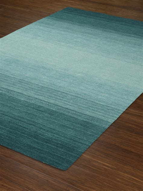 Rug Rug by Dalyn Torino Teal Area Rug Loomed Rug