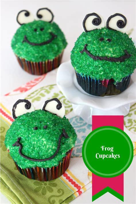 frog cupcakes allfreekidscraftscom