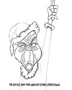 grinch mask coloring page 20 best the grinch images on pinterest grinch coloring