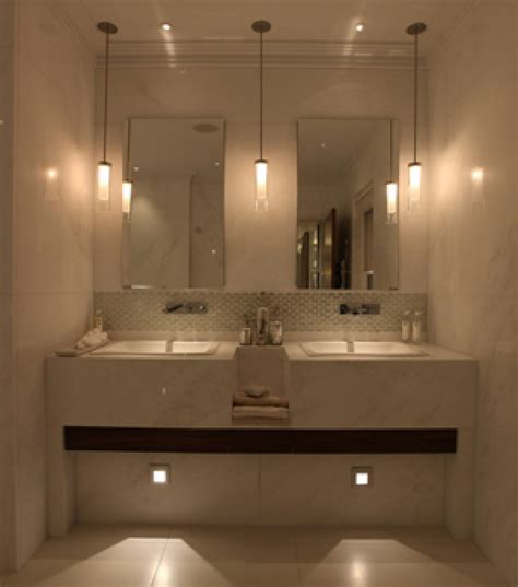 Small Bathroom Remodel Be Equipped Lighted Bathroom Mirror Bathroom Pendant Lighting Ideas