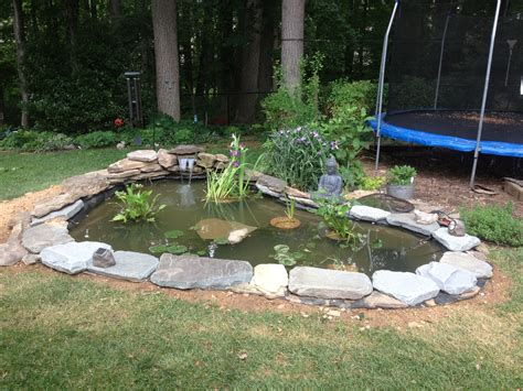 how to create a backyard pond step by step the soulful