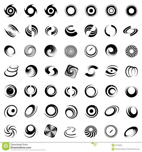 clipart in movimento movimento e rotazione a spirale 49 elementi di disegno