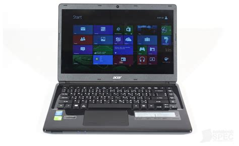 Laptop Acer E1 470 image of acer acer aspire e1 470 notebookspec