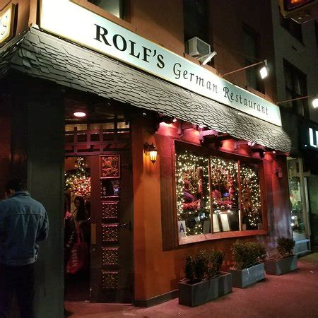 rolf s rolf s bar restaurant new york city gramercy park