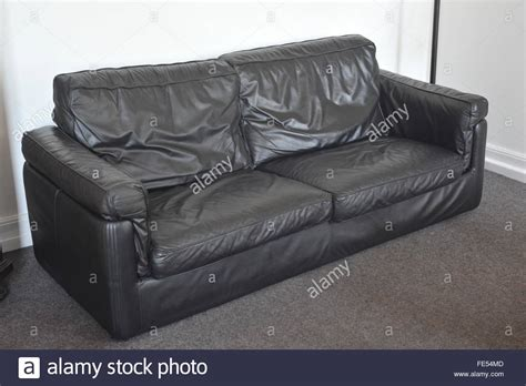 Used Black Leather Sofa Used Leather Couches Home Design