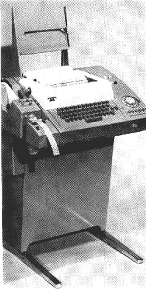 teletype machines
