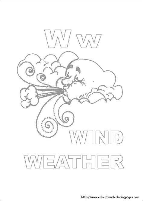 weather coloring pages for preschool free coloring pages of weather for preschool