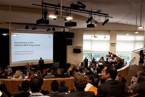 Insead Singapore Mba Part Time by Two Weeks Fresh Impressions The Insead Mba