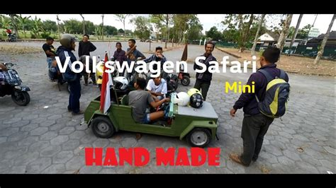 modifikasi vespa jadi modifikasi unik vespa jadi vw safari
