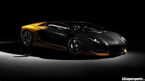 Lamborghini Aventador Black And Yellow Yellow And Black Lamborghini Aventador Pic 10 Sssupersports