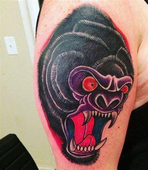 gorilla tattoo meaning 24 best angry gorilla images on gorilla