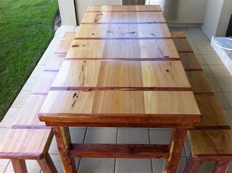 foot cypress  cedar indooroutdoor dining table