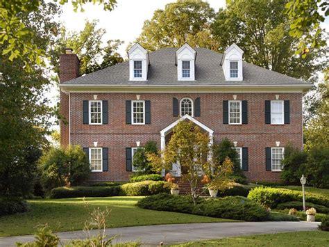 federal architecture hgtv beautiful brick homes hgtv