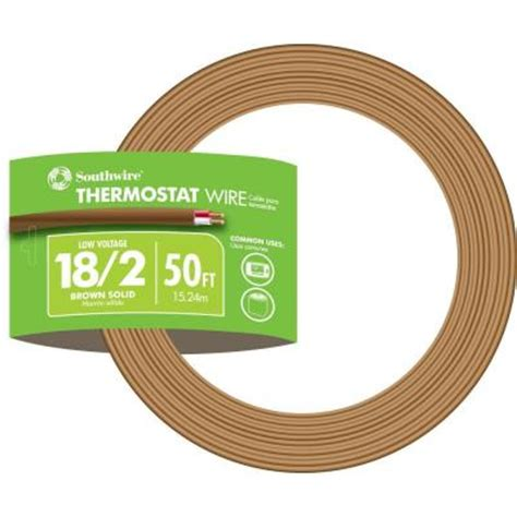 50 ft 18 2 thermostat wire