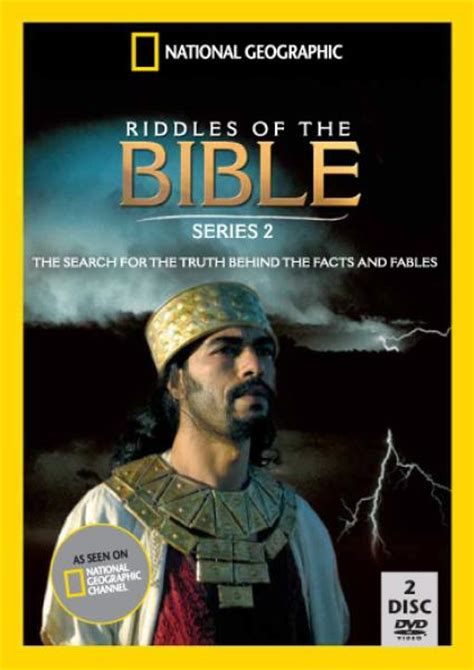 national geographic riddles of the bible series 2 dvd