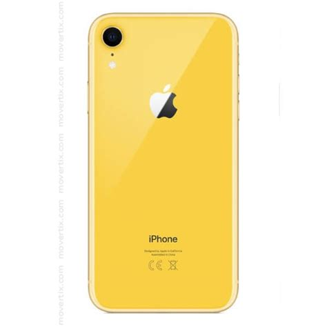 apple iphone xr yellow 128gb 0190198773678 movertix mobile phones shop