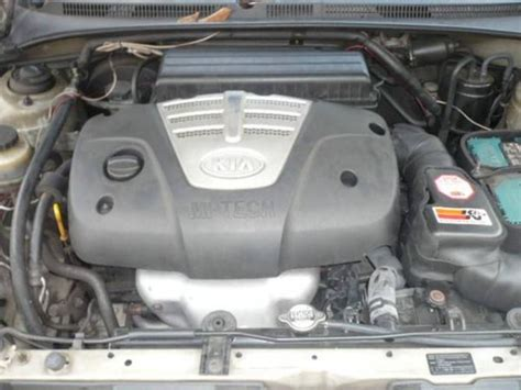 Kia 2004 Engine 2004 Kia Pictures