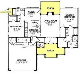 Handicap House Plans 655843 Country Farmhouse 2 Bedroom 2 Bath With Split