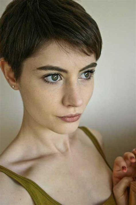 brown and blonde pixie cuts pixie haircuts for fine hair short hairstyles 2017