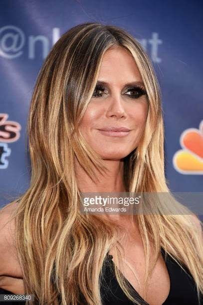 what colour is heidi klum s hair heidi klum hair america s got talent gorgeous best