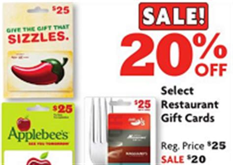 Can You Use Applebees Gift Cards At Chili - family dollar offers 20 off select gift cards