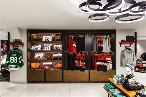 Are You A Chicago Designer Or Store by Chicago Blakhawks Flagship Store By Chipman Design