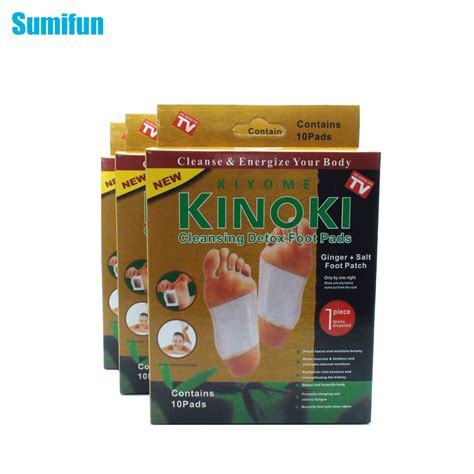 Detox Headache Relief by 30pcs Sumifun Kinoki Detox Foot Pad Patch Care Tens