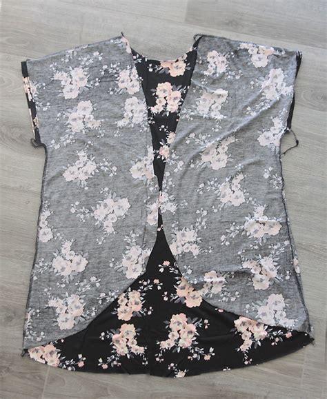 pattern to make a kimono the breezy tee kimono easy sewing tutorial it s always