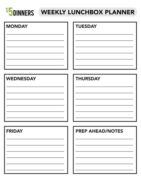 printable agenda pages for students 6 best images of printable weekly school planner