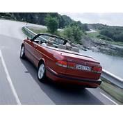1999 2002 Saab 9 3 Convertible  SE Rear Angle Speed