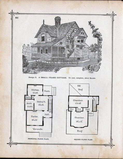 victorian cottage house plans 79 best images about vintage house plans 1800s on
