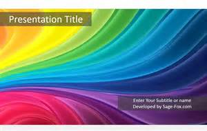 colorful powerpoint templates free colorful stripes powerpoint template free colorful