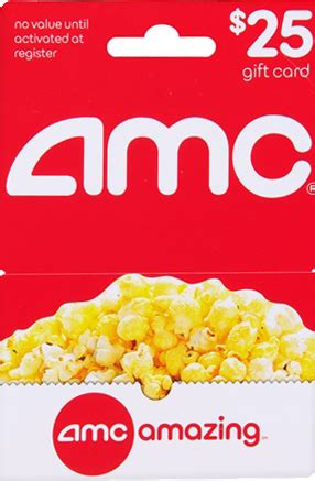 Movie Theatres Gift Cards Christmas - amc theatre gift card value