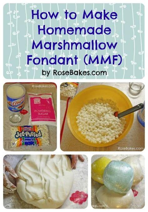 how to make homemade marshmallow fondant fondant