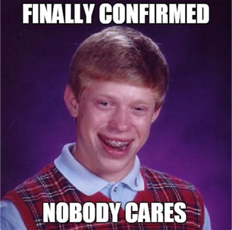 Yearbook Kid Meme - bad luck brian image gallery know your meme