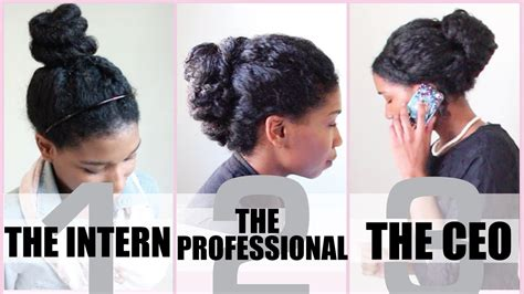 is there a professional length of hair for middle aged women 3 no heat corporate protective styles for medium length