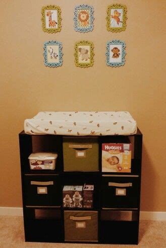 organizer for changing table best 20 changing table storage ideas on