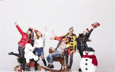film bertema natal foto f x dan shinee di sebuah ptohoshoot bertema natal