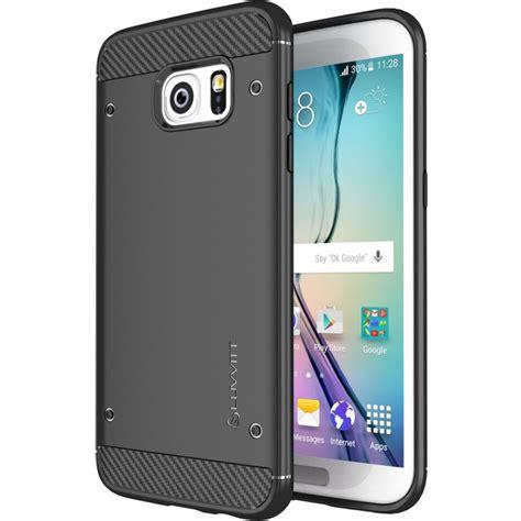 Samsung Galaxy S7 Edge Carbon Rugged Armor Heavy D Diskon galaxy s7 edge luvvitt sleek armor slim shock